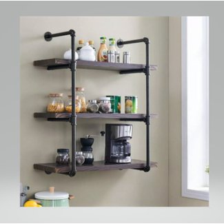 50 Wall Mounted Kitchen Shelves You Ll