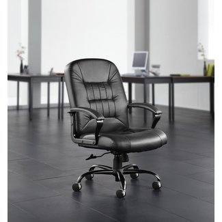 Big and Tall Ergonomic Genuine Leather Executive Chair