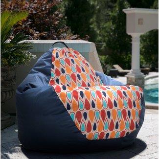 Big Joe Outdoor Teardrop Geo Drop Bean Bag Chair