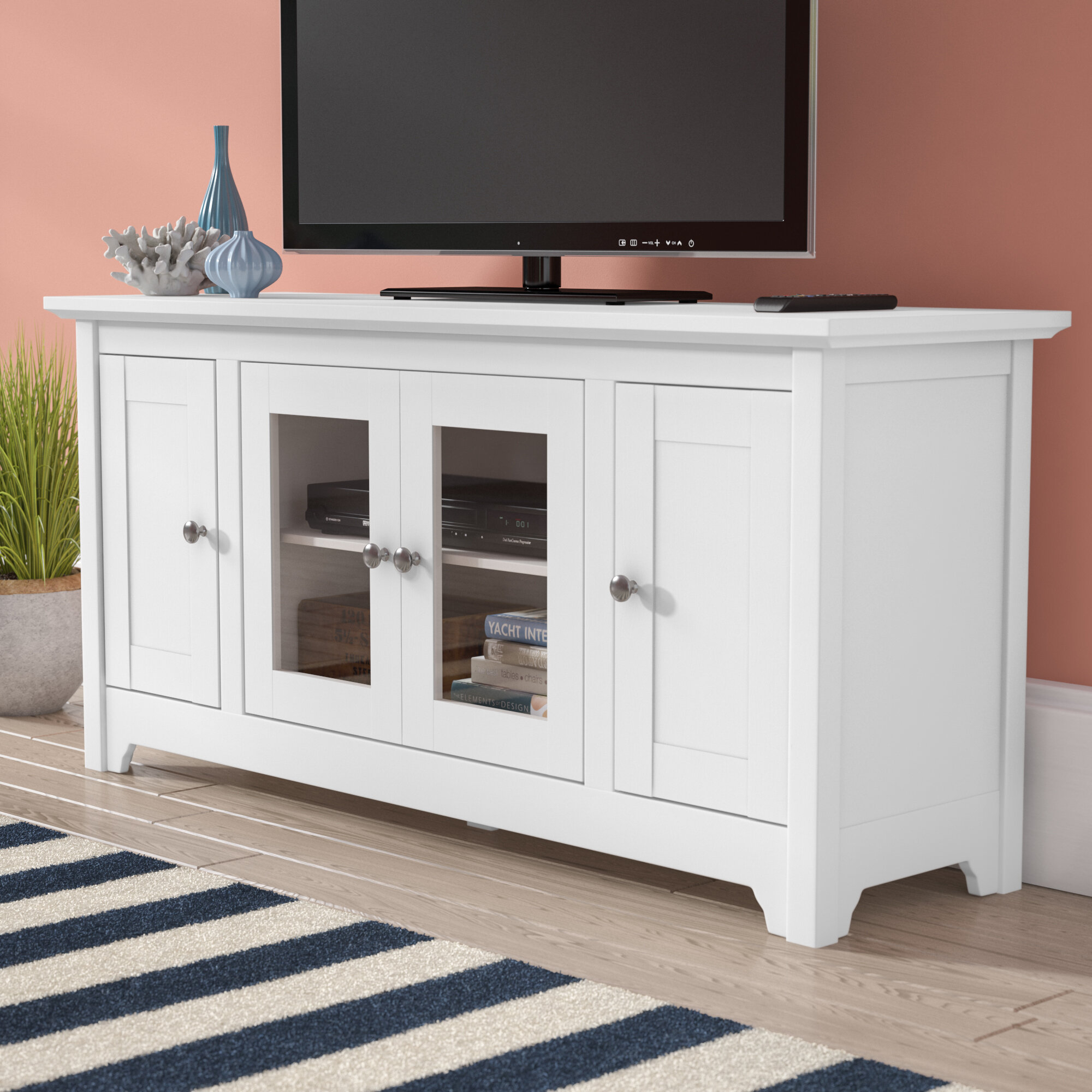 Tv Cabinet With Doors You Ll Love In 2021 Visualhunt