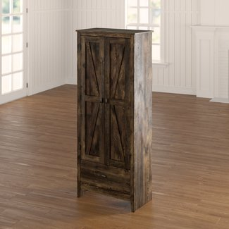 Tall Wood Storage Cabinets With Doors Visual Hunt