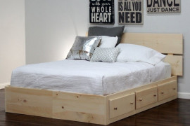 Queen Size Captains Bed