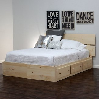Platform Bed With Drawers You Ll Love In 2021 Visualhunt