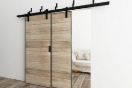 Double Barn Door Hardware