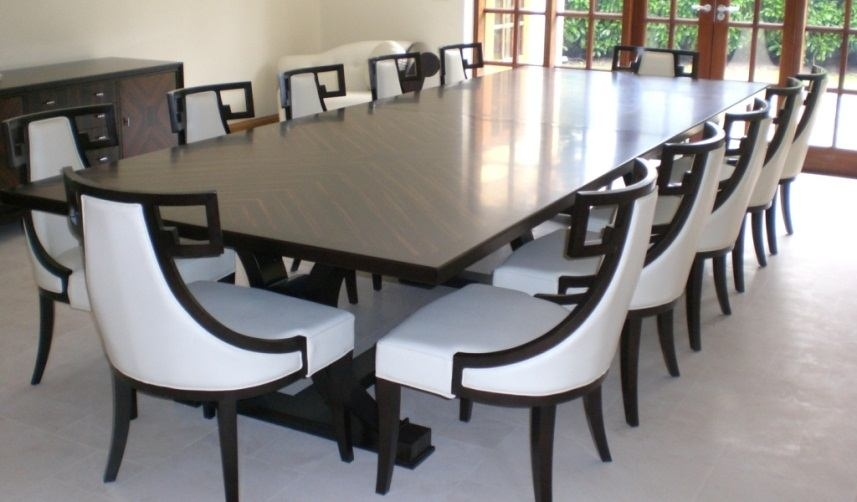 12 Person Dining Table Visualhunt, Dining Room Tables That Seat 12 Or More