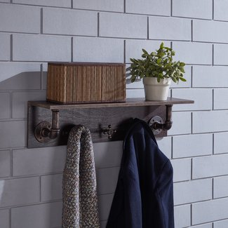 Danya Wall Mounted Coat Rack