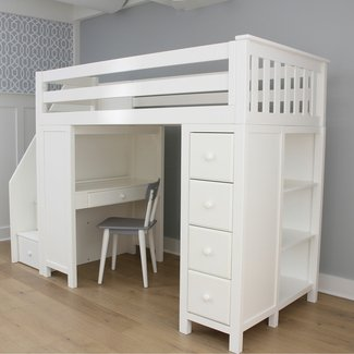 Bunk Beds With Dressers You Ll Love In 2021 Visualhunt