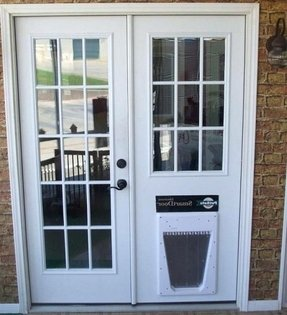 50 Exterior Door With Built In Pet