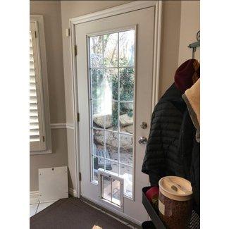 Exterior Door With Built In Pet Door You Ll Love In 2020 Visualhunt A door that opens out. exterior door with built in pet door