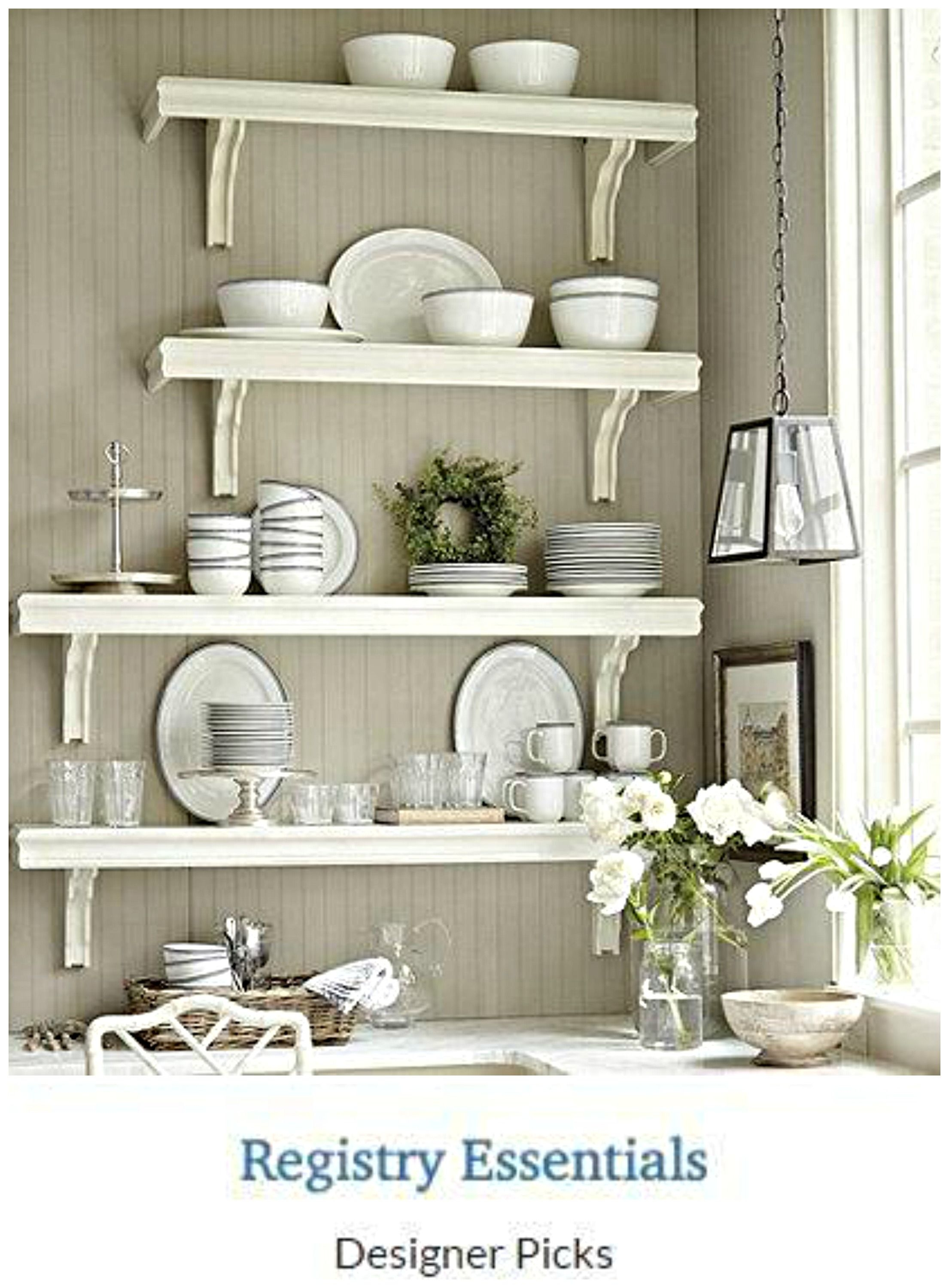 Wall Mounted Kitchen Shelves You Ll Love In 2021 Visualhunt