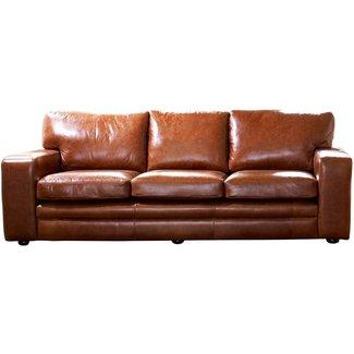 Full Grain Leather Sofa - Visual Hunt