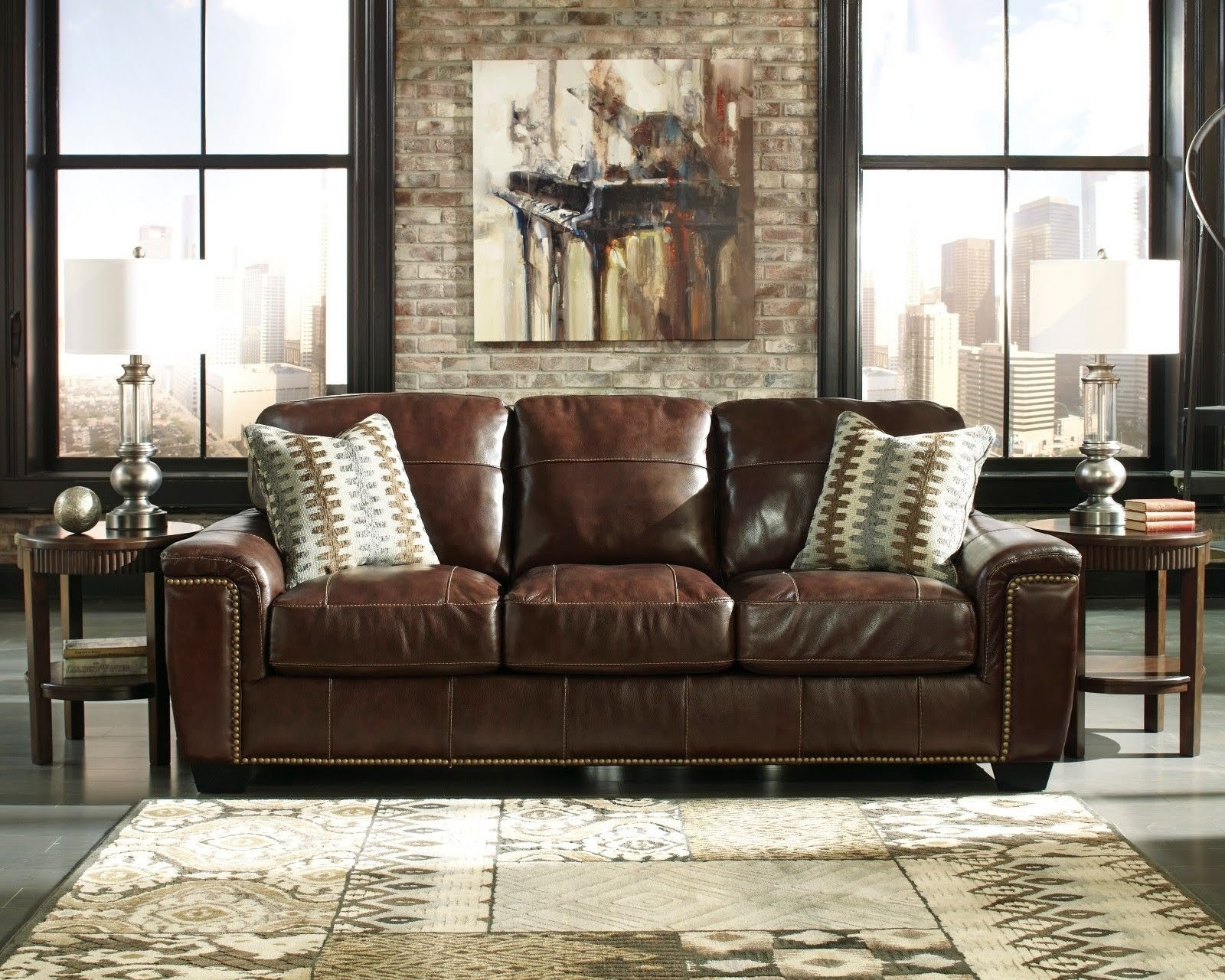 Image of: 50 Full Grain Leather Sofa You Ll Love In 2020 Visual Hunt