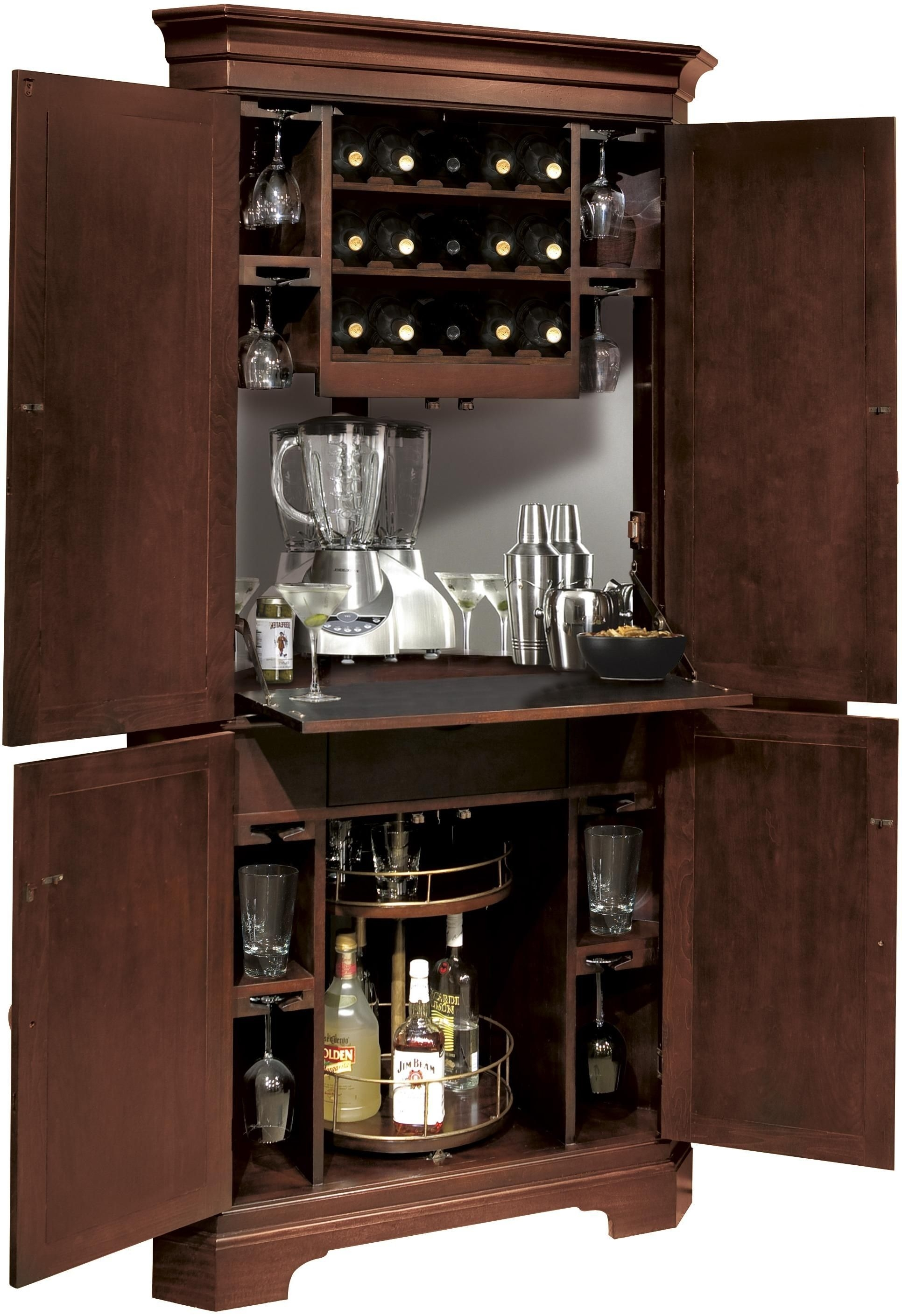 Liquor Cabinet With Lock You Ll Love In, How To Lock Up Liquor Cabinet