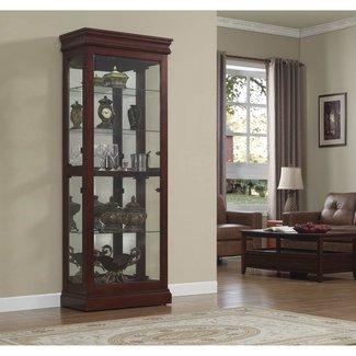 Furniture: Luxury Liquor Cabinet With Lock For Elegant ...