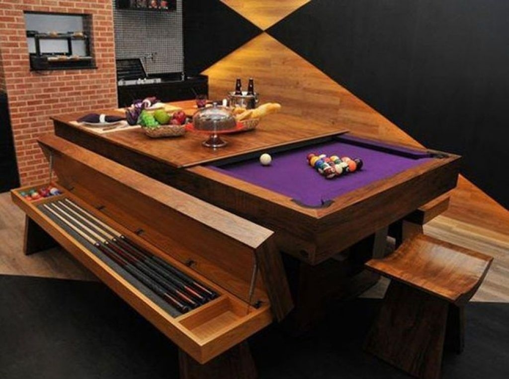 Pool Table Dining You Ll Love In, Pool Table Dining Room Conversion