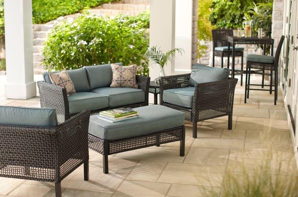 Hampton Bay Patio Furniture You Ll Love, Hampton Bay Outdoor Furniture