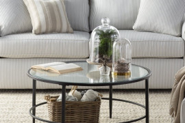 Circular Glass Coffee Table