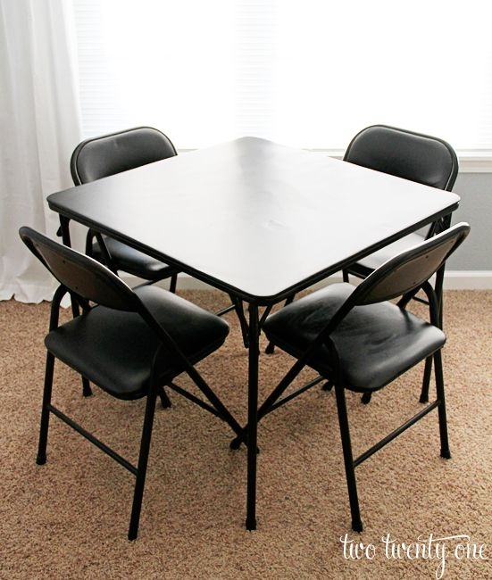 Card Table And Chairs You Ll Love In 2021 Visualhunt