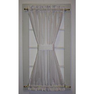 Howerton Solid Door Panel Curtain