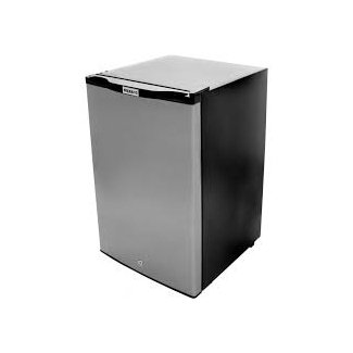 Ideas: Interesting Solid Stainless Steel Mini Fridge With ...
