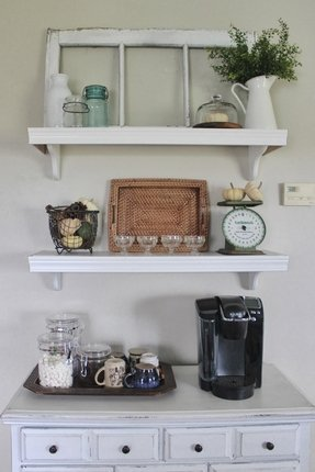 50 Wall Mounted Kitchen Shelves You Ll Love In 2020