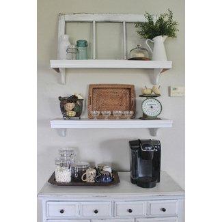 Wall Mounted Kitchen Shelves Visual Hunt