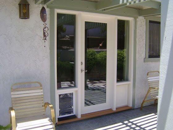 Exterior Door With Built In Pet Door You Ll Love In 2021 Visualhunt