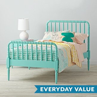 Jenny Lind Kids Bed (Teal) | The Land of Nod