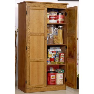 Tall Wood Storage Cabinets With Doors You Ll Love In 2020 Visualhunt