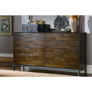 Kolton 8 Drawer Double Dresser