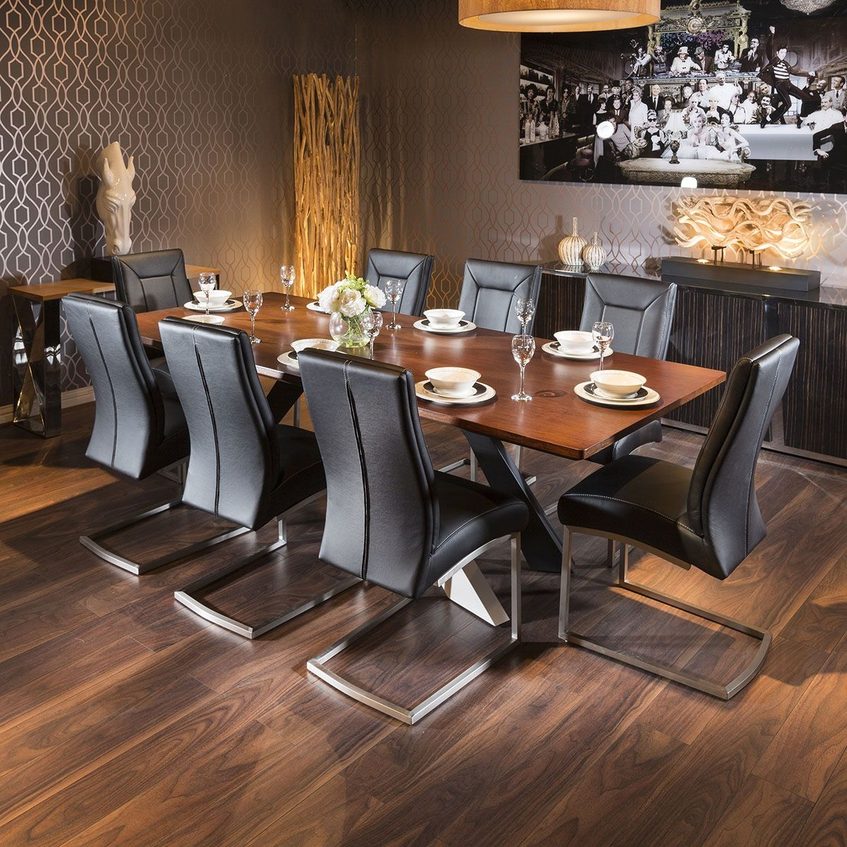 12 Person Dining Table Visualhunt, Large Dining Room Table Seats 12