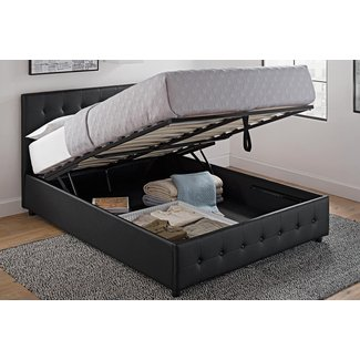 Lift Up Bed With Storage Underneath New House Designs
