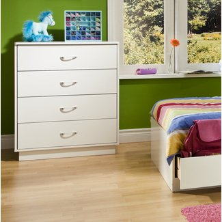Logik 4 Drawer Chest