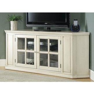 50 White Corner Tv Stand You Ll Love