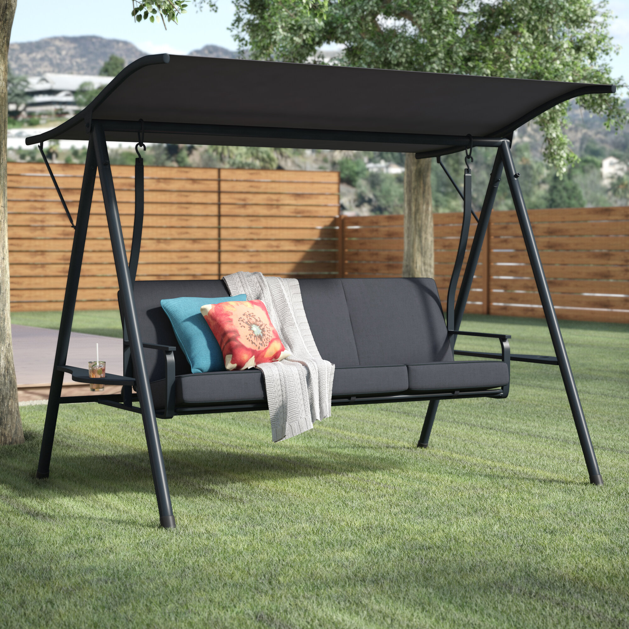Outdoor Swing Cushions With Backs You Ll Love In 2021 Visualhunt