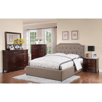 Melita Upholstered Storage Platform Bed