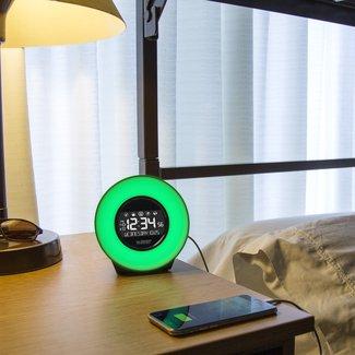 Mood Light Alarm Tabletop Clock