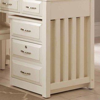 Nicolette 2-Drawer Mobile File Cabinet