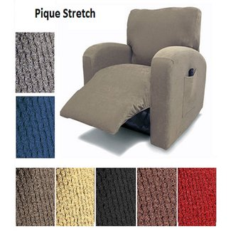 Orly's Dream Pique Stretch Fit Furniture Chair Recliner Lazy Boy Cover Slipcover