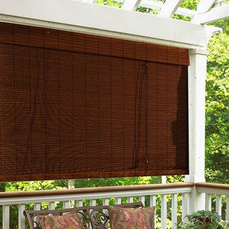 50 Outdoor Roll Up Bamboo Blinds You Ll Love In 2020