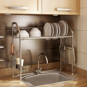 Pleasing Over The Sink Shelf Visual Hunt Home Interior And Landscaping Oversignezvosmurscom