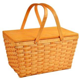 Overland Wicker Basket