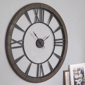 """Oversized Paray 60"""" Wall Clock"""