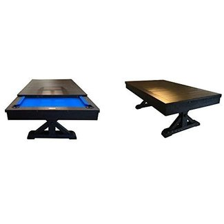 Plank & Hide Otis Pool Table Dining Table