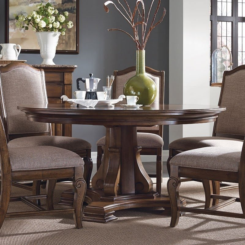 60 Inch Round Dining Table Set You Ll, 60 Inch Round Dining Table With 6 Chairs Set