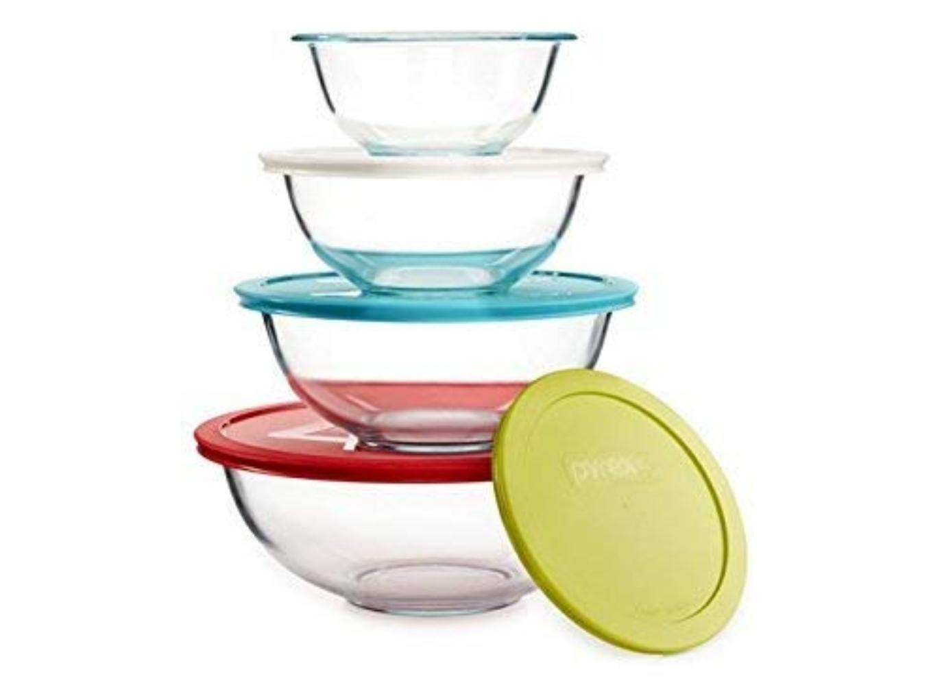 Fitted Bowl Covers Translucent SET OF 50 Variety of Sizes To Fit Every Bowl
