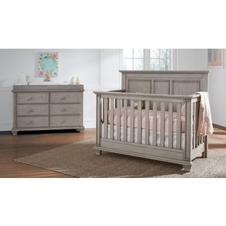 Ranchester 4-in-1 Convertible 2 Piece Crib Set