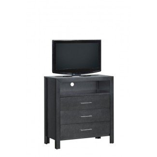 Raye 3 Drawer Media Chest