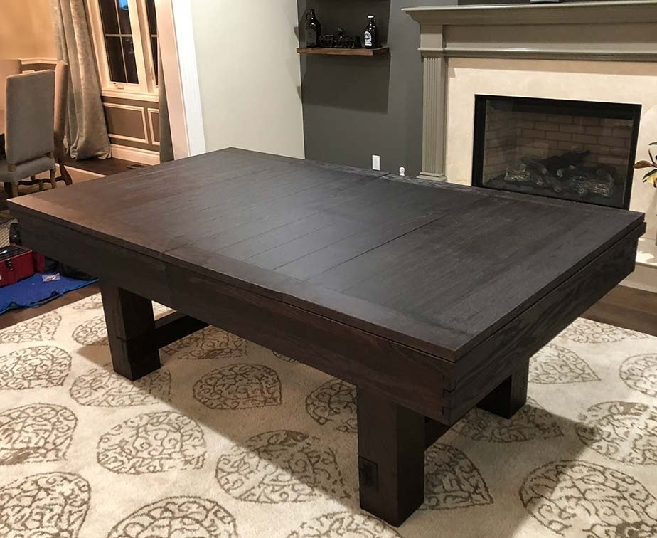 50 Pool Table Dining Table You Ll Love In 2020 Visual Hunt
