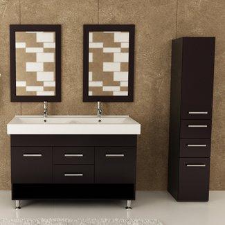 "Rigel 48"" Double Bathroom Vanity Set"
